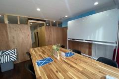 会議室とホワイトボード